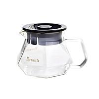 Bình chứa cà phê Server Brewista X-series 400ml - trong suốt