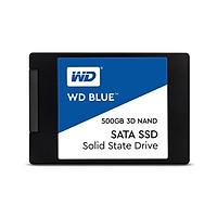 Ổ Cứng SSD 3D NAND SATA3 Western Digital WD Blue (WDS500G2B0A) (500GB) (6GB/s) (2.5 Inch)
