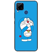 Ốp lưng dành cho Realme C15 mẫu Doremon Vui