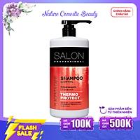 Dầu gội Salon Professional bảo vệ tóc khỏi các tác động nhiệt của máy sấy, m.áy làm t.óc 1000ml
