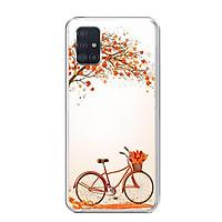 Ốp lưng dẻo cho điện thoại Samsung Galaxy A51 - 0389 BICYCLE04 - Hàng Chính Hãng