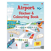 Usborne Sticker and Colouring Book: Airport