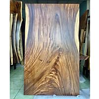 Mặt bàn gỗ me tây nguyên tấm tự nhiên rộng 103cm dài 185cm