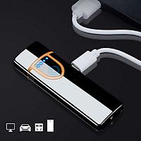 BẬT LỬA ĐIỆN 2 MẶT CẢM ỨNG (Tặng kèm 1 dây sạc USB)