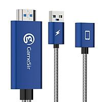 Adapter Cáp hiển thị HDMI cho điện thoại chơi game thương hiệu GameSir GTV100 - Hàng chính hãng