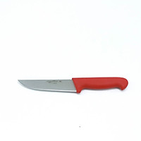 Dao Thái Thịt Cutlery-Pro Lưỡi Thẳng Cán Đỏ 152Mm