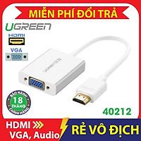 Dây HDMI sang VGA có Audio 40212 chính hãng Ugreen