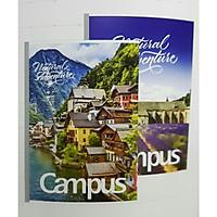 Lốc 5 quyển vở Campus Adventure 200 trang có chấm