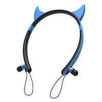 ZW29 Bluetooth Stereo Headphones Wireless Magnetic Sports Headset Sweatproof Earphone Cute Shape Detachable Ear for