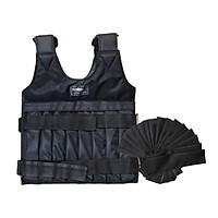 44 lb Workout Weight Vest Weighted Training Adjustable Fitness Jacket Exercise