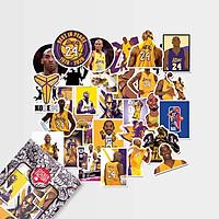 Kobe Bryant - Set 30 sticker hình dán