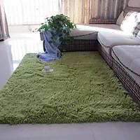 Thảm lông trải sàn 1m6x2m - màu xanh cốm
