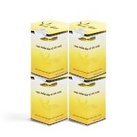 Yến Sào Song Việt - Combo hộp giấy 4 hũ yến khô nguyên chất