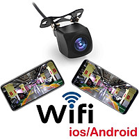 WiFi Camera Wireless Backup Camera for Car with APP Intelligent Video Recording/Sharing Camera