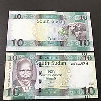 Tờ lưu niệm hình con Trâu  ở Nam Sudan - South Sudan, dùng để lì xì, sưu tầm, lưu niệm, trang trí trong nhà dịp Tết Tân Sửu 2021 - SP001802