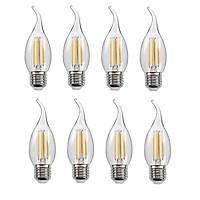 Bộ 8 bóng đèn Led Edison C35 4W hình nến đui E27