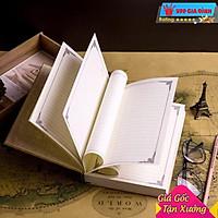 Sổ Nhật Ký Bìa Cứng Kích Thước A5 Vintage Magic Book MFS 004 Ghi Chú Giấy Note