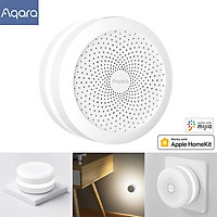 Aqara M1S Hub Aqara Zigbee Gateway With RGB LED Night Light Built-in Speaker Smart Linkage Gateway Work with Apple