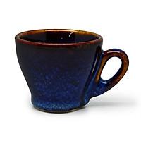 02 Cốc cà phê Ý S2  Đông Gia - xanh sóng biển 8094. Italian coffee Cup S2
