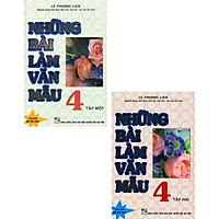 Combo Những Bài Làm Văn Mẫu 4 - Tập 1 + 2 (Bộ 2 Cuốn)