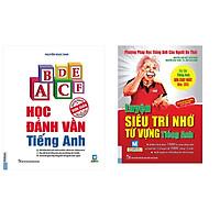 Combo sách học tiếng anh thật đơn giản: Học đánh vần tiếng anh và luyện siêu trí nhớ từ vựng tặng cuốn rèn luyện kĩ năng giao tiếp học sinh