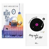 Combo Sách Văn Học Hay: Bà Ngoại Thời @ + Lắng Nghe Gió Hát (Bộ Sách Ý Nghĩa Bồi Bổ Tâm Hồn - Tặng Kèm Bookmark Happy Life)