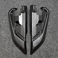 Ốp Gác Chân Sau Dành Cho SH 2017 - 2019 Carbon MS1617 - Tặng Thêm 1 Pin AAA Maxell