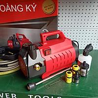 máy phun xịt rửa xe điều chĩnh áp công suất 2400W tặng thanh nối vòi xịt bình tạo bọt tuyết