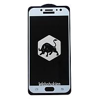 Miếng dán cường lực cho Samsung Galaxy J7 Plus Full Keo Webphukien - Hàng Chính Hãng