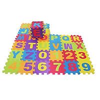 ABC 123 Alphabet Tiles Numbers Jigsaw Puzzle Soft Foam Play Floor Mats Child Kid