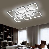 Đèn trần trang trí nội thất ROYAL hiện đại 3 màu ánh sáng có điều khiển từ xa