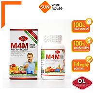Viên Uống Bổ Sung Khoáng Chất Cho Sức Khoẻ Nam Giới Olympian Labs M4M Multi-Vitamin For Men - Hộp 30 Viên