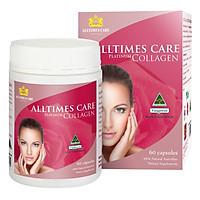 Thực Phẩm Chức Năng Viên Uống Alltimes Care Platinum Collagen (Hộp 60 Viên)