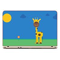 Miếng Dán Decal Laptop Animal Cartoon DCLTDV 349