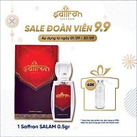 Nhụy hoa nghệ tây Saffron Salam 0.5gr