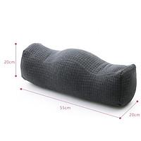 Super Comfort Cotton Leg Pillow Side Sleep Knee Pillow Fold Type - Grey