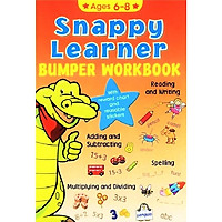 Snappy Learner Bumper Workbook - Ages 6-8