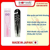 Combo bàn chải ion vệ sinh lưỡi + cây lăn matxa mặt nội địa Nhật Bản