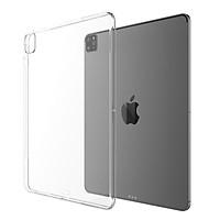 Ốp lưng dẻo dành cho iPad Pro 11 inch 2021 M1 silicon trong suốt siêu mỏng cao cấp