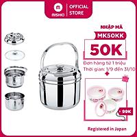 Nồi ủ nhiệt inox Mishio MK187 5.4L - Hàng chính hãng