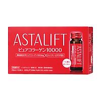 Thực Phẩm Chức Năng bổ sung Collagen Astalift Drink Pure Collagen 10,000mg (10 chai x 30ml)