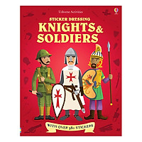 Usborne Sticker Dressing Kinghts and Soldiers  Bind-up