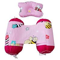 Set gối chống móp đầu và chặn cho bé sơ sinh
