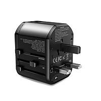 Củ sạc nhanh du lịch đa cổng USB-C Power Delivery, USB Quick Charge Rocks - Hàng chính hãng
