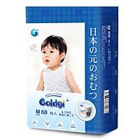 Bỉm quần GOLDGI+ Size M 60 miếng (cho trẻ từ 6-11kg)