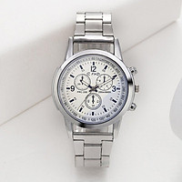 Steel Glass Mesh Automatic Casual Business Round Dial Watches for Men