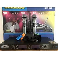 """Micro amply """"SHUBOSS 838"""" karaoke cao cấp – HÀNG CHÍNH HÃNG"""