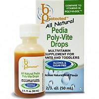 Thực phẩm chức năng Vitamin Tổng Hợp Cho Trẻ Biếng Ăn, Suy Dinh Dưỡng Bprotected Pedia Poly-Vite Drops 50ml
