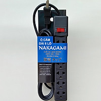 Ổ cắm điện dài 6 lỗ Nakagami chất lượng cao công nghệ Nhật Bản