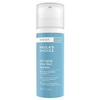 Kem Dưỡng Ẩm Dành Cho Da Nhạy Cảm Và Lão Hóa Paula's Choice Resist Anti – Aging Clear Skin Hydrator (50ml)
